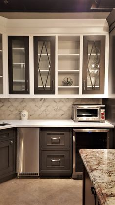 For Those Who Want To Compromise Between Stained And Painted Cabinetry Ferguson Showroom Chantilly