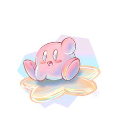 (*** http://BubbleCraze.org - If you like bubble games for Android/iPhone, you'll LOVE this one. ***)  Kirby on the Warp Star