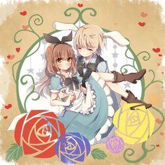 Sayu and Kaname