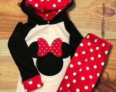 Baby Girl Clothes Outfit Minnie Mouse by KiKiiGlitterandGlam
