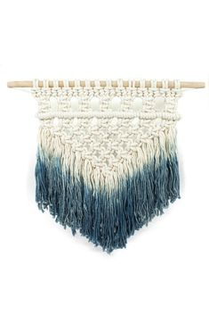 "This intricately woven wall hanging is a texture and color two for one! Use it to spruce up any room. Dimensions: Small measures 12"" x 16"". Medium measures 24"" x 28"" and Large measures 36"" x 40"" Detai"