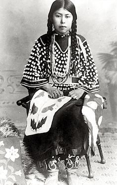 Nez Perce girl. ca. 1900