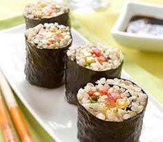 Brown Rice Maki Rolls Recipe   Reader's Digest