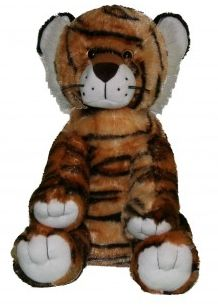 "Singing 16"" plush Tiger which plays custom music featuring your child's name."