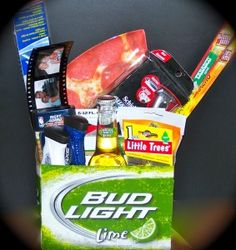 easter basket for man in your life! Haha!