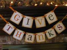 Inspiring Ideas! Fireplace Mantel Decorating For Thanksgiving