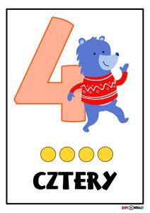 Plansze z cyframi - trzy wzory! - Pani Monia Winnie The Pooh, Smurfs, Disney Characters, Fictional Characters, Winnie The Pooh Ears, Fantasy Characters, Pooh Bear