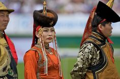 Mongolian Dragon Lady