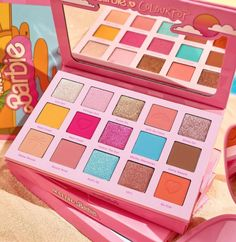 Makeup News: ColourPop x Barbie Makeup Collection Prices ColourPop x Barbie Makeup Collection is coming soon! The new special edition ColourPop x Barbie Malibu Makeup Collection will feature an entire assortment of Malibu Barbie inspired beauty products. The collection will include makeup palettes, false lashes, lipsticks, and more... Malibu Sunset, Barbie Makeup, Faux Lashes, Malibu Barbie, Makeup News, Colourpop Cosmetics, Beauty Junkie, Eyeshadow Looks, Beauty Industry