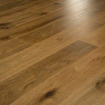 Smoked and Oiled 'Rocky Mountain' Oak 15 x 189mm Engineered Wood Flooring - Crown