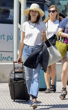 The Alexa Chung Outfits We Always Copy via @WhoWhatWear