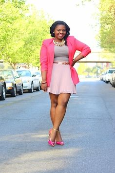 ...cute and flirty in pink :)