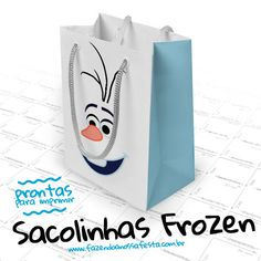 Sacolinha Lembrancinha Frozen