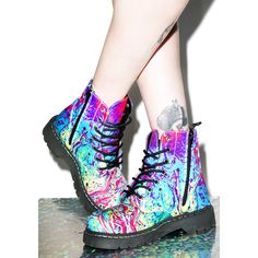 Designer Clothes, Shoes & Bags for Women Fly Shoes, Cute Shoes, Me Too Shoes, Awesome Shoes, Goth Platform Boots, Doc Martens Boots, Shoe Boots, Shoe Bag, Ankle Booties