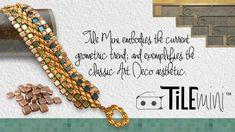Get To Know Tile Mini! ~ Seed Bead Tutorials