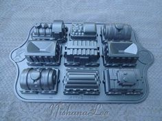 Nordic Ware Train Cake Mold Pan Use for Cake by DebbiesDabblings