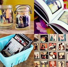 Things to do with printed photos! (this site also lists 10 things not to do in photography)