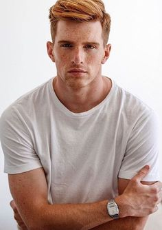 Place where I highlight my absolute love of ginger/red-headed men Hot Ginger Men, Ginger Hair, Ginger Gene, Red Hair Men, Redhead Men, Hottest Redheads, Ginger Snaps, Beautiful Men, Beautiful Things