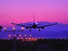 仙台空港 夕景 |Sendai Airport