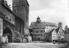 Tiergärtnertorplatz; Nürnberg/Nuremberg; Germany; Foto: Ferdinand Schmidt; um 1880;
