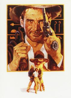 Indiana Jones & The Raiders of the Lost Ark by Tom Jung