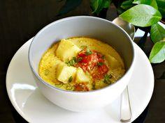 πατάτες βουτύρου γαλλικές - - Oh là là | Pandespani Thai Red Curry, Brunch, Yummy Food, Fish, Vegan, Breakfast, Ethnic Recipes, Desserts, Gourmet