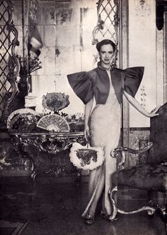 Estée Lauder, Glamour magazine, December 1980.