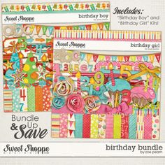 Birthday Bundle by Zoe Pearn. $10.48