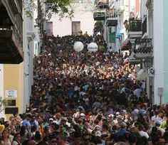 Fiestas de la Calle San Sebastian! Sanse! San Juan, Puerto Rico :D