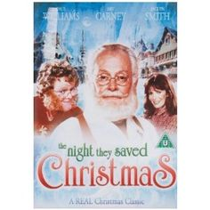 For Sale on DVD: The Night They Saved Christmas DVD 1984 Art Carney TV Movie The 1984 Made For TV Classic Staring Art Carney as Santa Claus and Paul Williams as the Lead Elf Ed comes to DVD. This is a sweet holiday tale of saving the North Pole from Xmas Movies, Best Christmas Movies, Hallmark Christmas Movies, Hallmark Movies, Christmas Books, Christmas Fun, Holiday Movies, Easter Movies, Christmas Classics