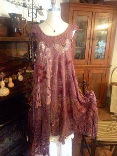 Luv Lucy Crochet Dress Gatsby Flapper Roarin by LuvLucyArtToWear