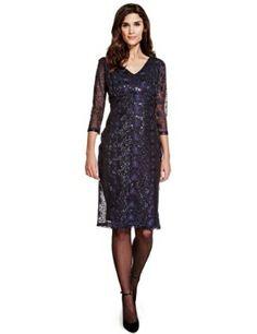 Per una midnight lace dress