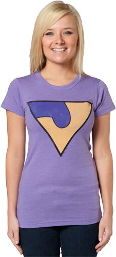 Jayna Wonder Twins T-Shirt by Junk Food - My official halloween costume this year!