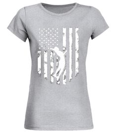 American Flag Volleyball T-shirt Distressed Cool Unisex Top