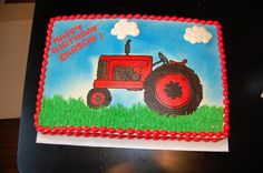 tractor birthday cakes   Original Embed