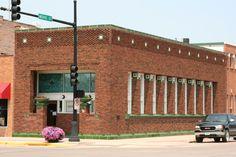 Henry Adams Building 1913 ~ Algona, Iowa ~ Architect: Louis Sullivan