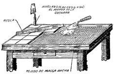 Como hacer una MESA CON AZULEJOS Tile Patio Table, Tile Tables, Azulejos Diy, Repurposed Furniture, Painted Furniture, Turkish Decor, Diy Outdoor Table, Garden Yard Ideas, Mosaic Art