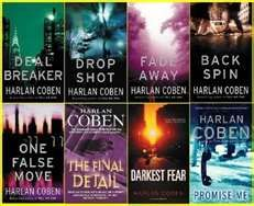 Harlen Coben- a great author. A novice writer can learn a lot about characterization from this man.