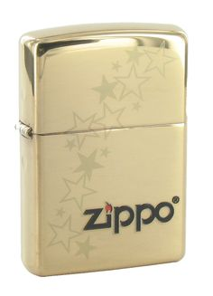 Zippo Gold Stars -