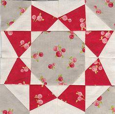 Farmer's wife quilt sampler by Antípodas, via Flickr