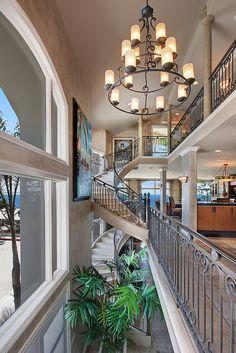 Stunning beach home interior
