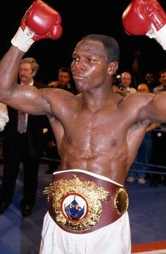 Chris Eubank, WBO Middleweight World Champion, 1991 | On This Day | ESPN.co.uk