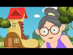There was an Old Woman who lived in a Shoe - Nursery Rhymes for Children Ep 29 - YouTube