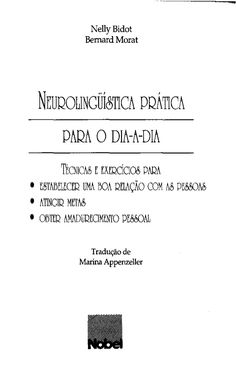 Pnl neurolinguística prática para o dia a dia