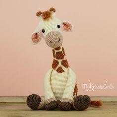 """459 Me gusta, 24 comentarios - MyKrissieDolls / Kristel Droog (@mykrissiedolls) en Instagram: """"Girafje Romy! Mijn nieuwste patroon is vanaf nu verkrijgbaar  #mykrissiedolls #krissie #dolls…"""""""