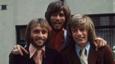 The Bee Gees in 1973.  Robin Gibb RIP