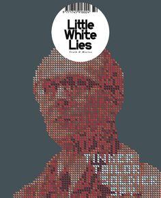 Final cover design for Little White lies magazine.