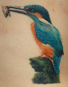 Kingfisher Wildlife Tattoo
