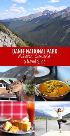 A travel guide to the Canadian Rockies in Banff National Park - Alberta, Canada. Tips on where to stay, what to do and where to eat! Be sure to add this great Canadian itinerary to your travel bucket list.
