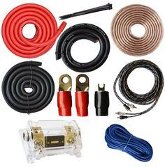 kicker cvr122 12 bundle duba1450 900 watt amplifier wire soundbox connected 0 gauge amp kit amplifier install wiring 1 0 ga pro installation cables